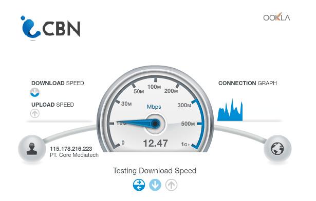 cara mengecek kecepatan wifi