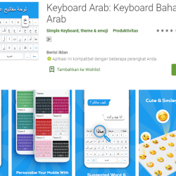 Keyboard bahasa arab