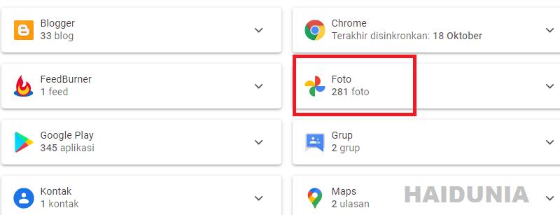 cara menghapus foto profil akun google gmail
