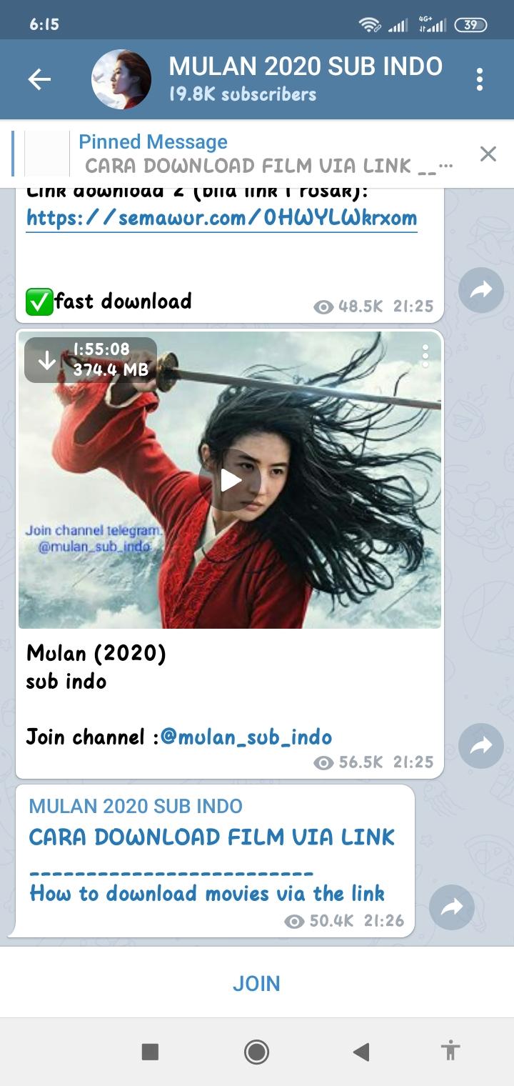 Nonton Film Mulan (2020) Sub Indo Full Movie Disney ...