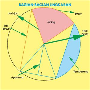 bagian bagian lingkaran