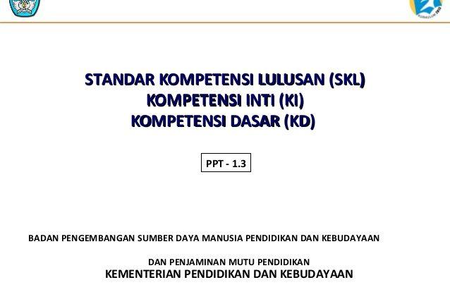 standar kompetensi lulusan (SKL) SD, SMP, SMA, Kejar Paket