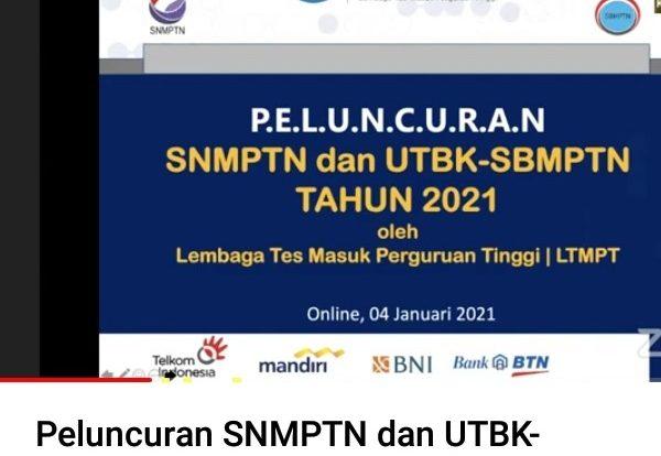 SNMPTN UTBK SBMPTN 2021