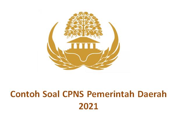 Contoh Soal Skb Pemerintah Daerah Cpns 2021 Dan Jawabannya