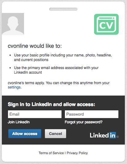 Cara Impor CV/Resume LinkedIn