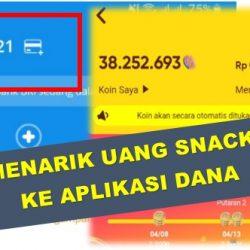 cara tarik uang di snack video