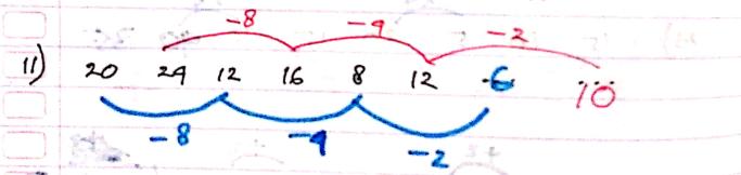 pola deret jawaban nomor 11