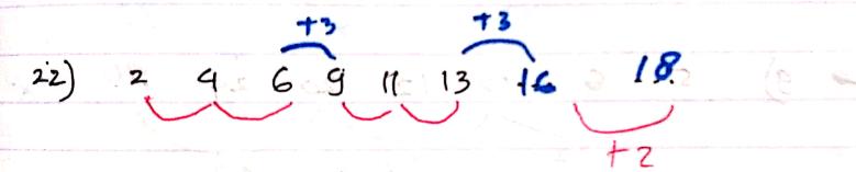 pola deret angka