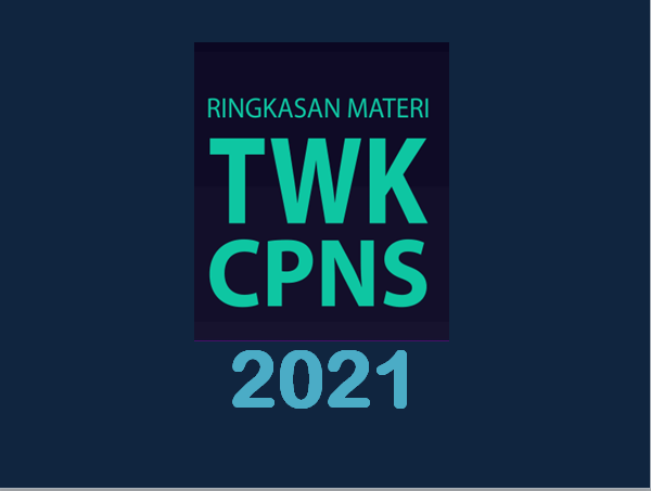 Mau Lulus Skd Download Materi Twk Cpns 2021 Pdf Ini Haidunia