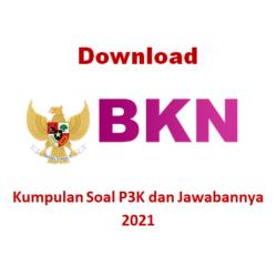 download kumpulan soal p3k dan jawabannya Pdf 2021