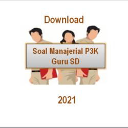 download soal manajerial p3k guru sd 2021 pdf