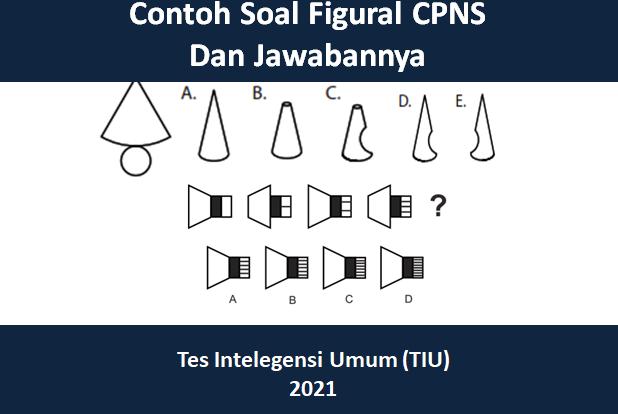 contoh soal figural CPNS 2021 Pdf dan jawabannya