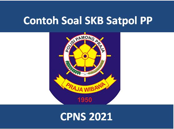 50 Contoh Soal Skb Satpol Pp Cpns 2021 Dan Jawabannya Pdf
