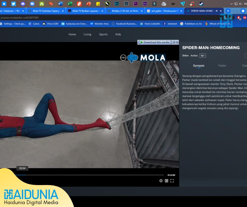 Cara Nonton MOLA TV Gratis