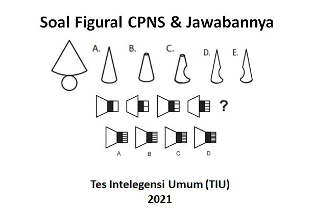 Soal figural CPNS 2021 dan jawabannya