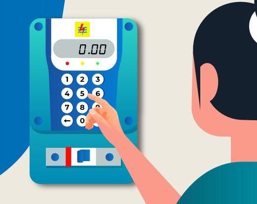 cara mengatur volume alarm token listrik