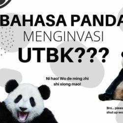 Contoh Soal Bahasa Panda dan Pembahasannya Untuk UTBK 2022