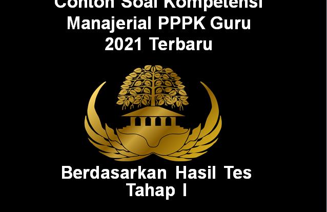 contoh soal kompetensi manajerial p3k guru 2021